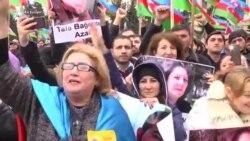 Opoziția azeră protestează înainte de scrutinul prezidențial