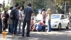 Алматы: Неработающие светофоры и ДТП