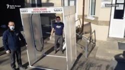 Coronavirus: Voluntari din Cluj construiesc porți de dezinfectare și le doneză spitalelor