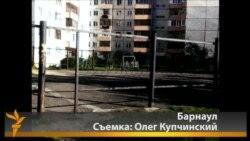 Протесты студентов в Барнауле