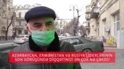 Azərbaycan, Ermənistan və Rusiya liderlərinin görüşündə diqqətinizi ən çox nə çəkdi?