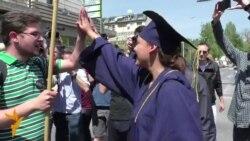 Илјадници средношколци и студенти протестираа против лошите реформи
