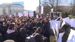 Protest zbog zagađenja vazduha u Prištini