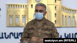 Представитель Армянского объединенного информационного центра Арцрун Ованнисян, 27 сентября 2020 г.