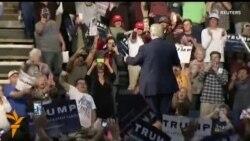 Трамп шайлоочулары менен жолугушту