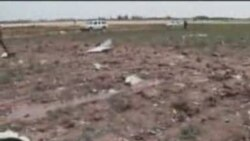 سقوط هواپيمای مسافربری در قزوين