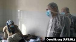 Өзбекстандагы ооруканалардын бири. Архивдик сүрөт.