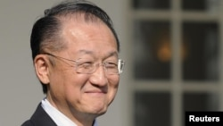 U.S. nominee for president of the World Bank, Jim Yong Kim
