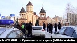 Полиция задержала свадебный кортеж