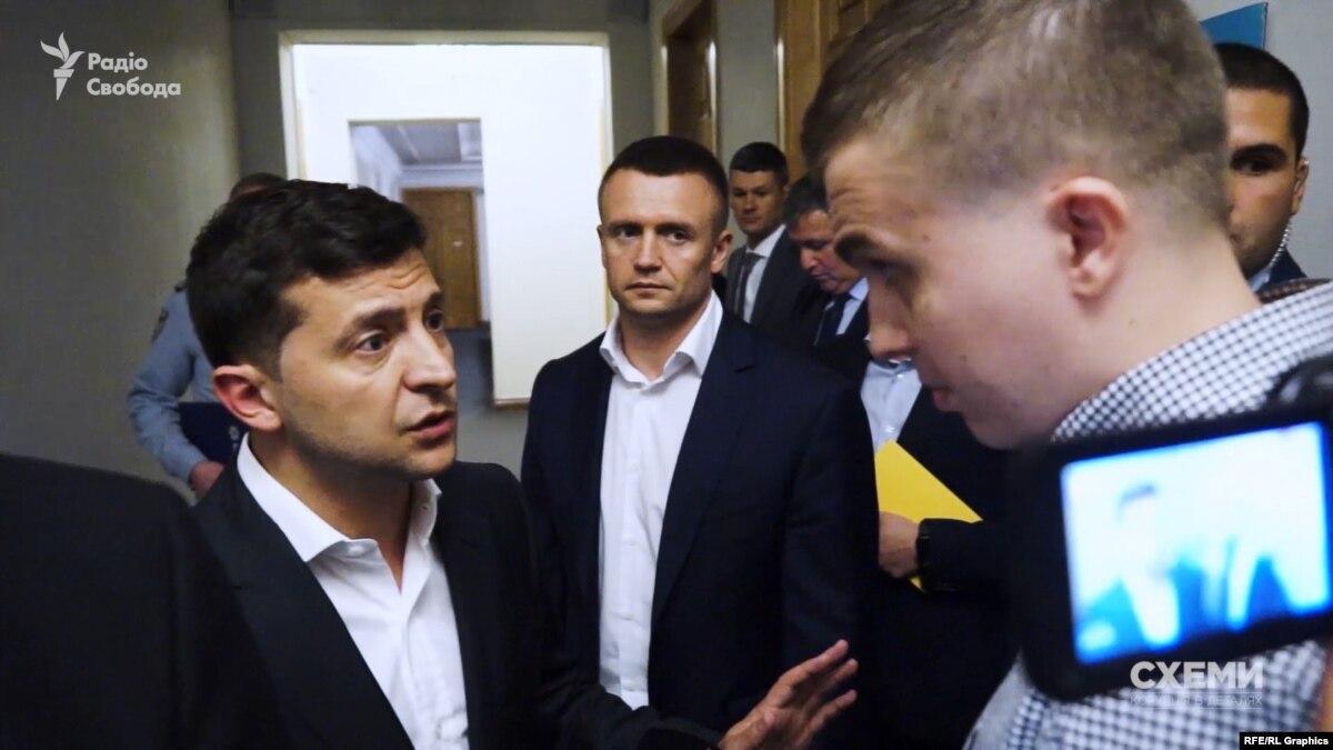 Зеленский рассказал «Схемам», просил у него что-то Пинчук