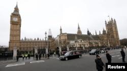 Ұлыбритания парламенті ғимараты, Лондон. (Көрнекі сурет).