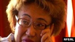Председатель талдыкорганского общества «Ерлик» Роза Акжеркенова, 13 августа 2008 года.