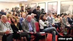 Аналогичный медиафорум проводился в Грузии три года назад.Тогда одним из гостей являлся Николай Силаев, приближенный к Кремлю политолог