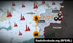 Схема збуту вугілля з трьох підприємств Ахметова