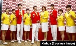 لباسهای کاروان چین هم در المپیک ریو انتقادات زیادی را برانگیخته است