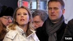 А всего пять лет назад Ксения Собчак и Алексей Навальный дружили