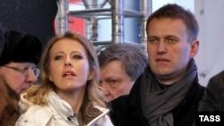 2011 год. Собчак и Навальный еще вместе
