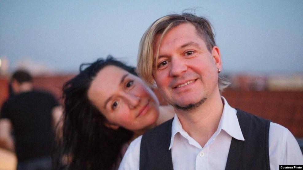 Ганна і Лявон Вольскія.