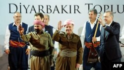 رجب طیب اردوغان، مسعود بارزانی و سيروان پرهور