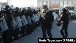 Казахская полиция. Иллюстративное фото.