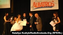 На врученні премії у Неаполі