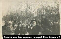 Александра Артамонова, семейный архив