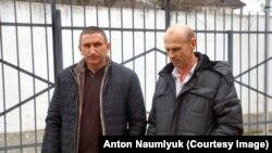 Родственники Николая Карпюка, приехавшие на суд в Грозный