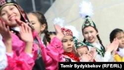 2017-жылдагы Нооруз майрамы учурунда тартылган сүрөт. Бишкек.