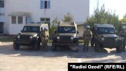 США не раз передали таджикским пограничникам военную технику, транспорт и средства связи