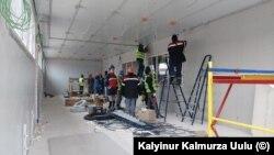 Ռուսաստան - Ղրղըզստանցի աշխատանքային միգրանտներ Մոսկվայում, արխիվ