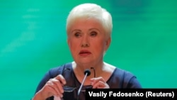 Belarusian Central Election Commission Chairwoman Lidziya Yarmoshyna