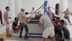 У соборі УГКЦ у Києві встановлюють вівтар
