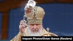 Кіраўнік Рускай праваслаўнай царквы патрыярх Кірыл