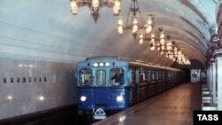 """Москва, станция метро """"Киевская"""""""