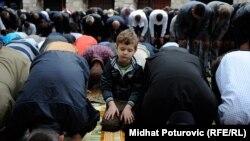 Bajram u Gazi-husrevbegovoj džamiji u Sarajevu