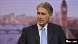 Defense Secretary Philip Hammond