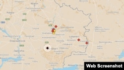Infographic: Recent Aircraft Incidents In Eastern Ukraine