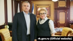 Сергій Аксенов і Яніна Павленко