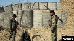 Солдаты Национальной армии Афганистана.