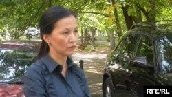 Армангуль Капашева, президент общественного фонда «Тагдыр». Алматы, 15 сентября 2009 года.