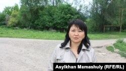 Учитель средней школы в Алматинской области и родитель Фарида Акбаева. 25 мая 2013 года.