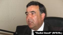 Tajikistan's Education Minister Abdujabbor Rahmonov