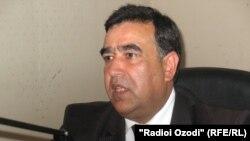 Tajik Education Minister Abdujabor Rahmonov