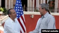 На церемонии встречи Кальдерон дал Бушу понять, что Мексика не чувствует достаточного внимания к себе со стороны Соединенных Штатов