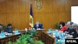 Vlad Filat şi rectorii universităţilor moldovene
