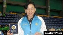 Кабира Аскарова. Фото предоставлено агентством по развитию спорта и физической культуры.