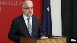 Архива: Претседателот на Собранието Талат Џафери.