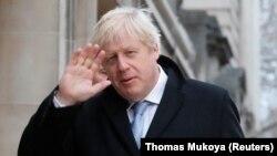 د بریتانیا وزير اعظم بورېس جانسن