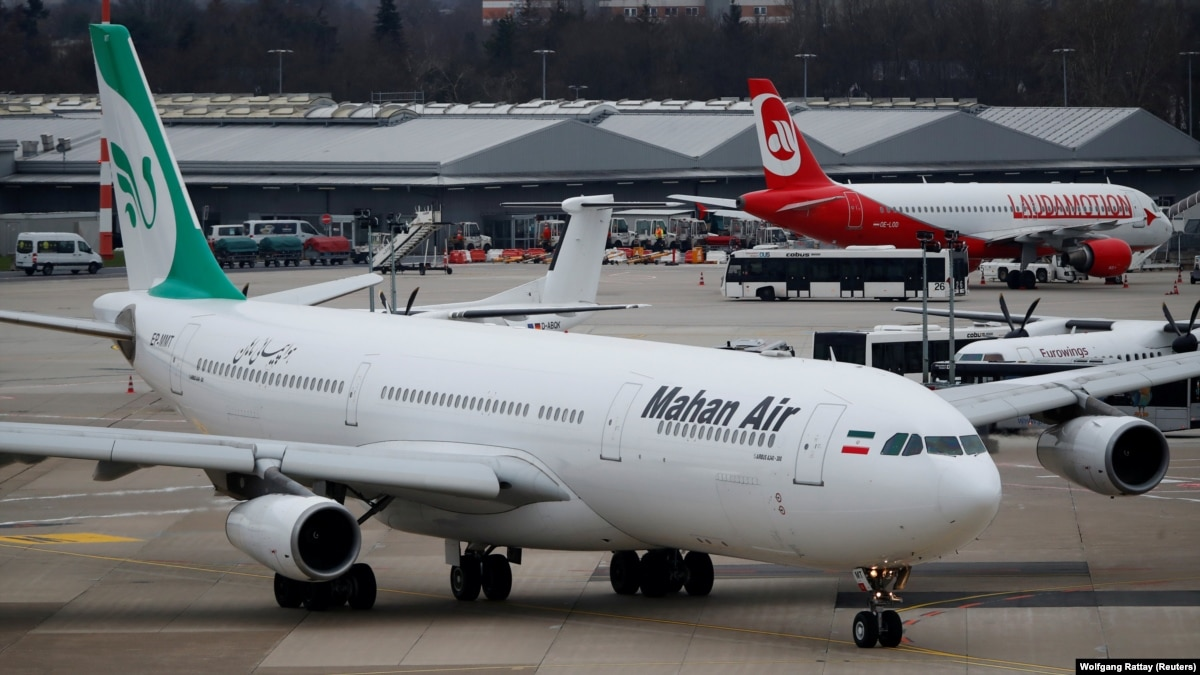 U.S. Targets Iran-Backed Airline, Militia Fighters In Syria With Sanctions