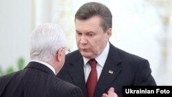 Віктор Янукович, Леонід Кравчук